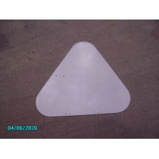 Perspex Front Quarter Light; Late Trojan; Not handed; no fittings [N-12:06A-Car-NE]