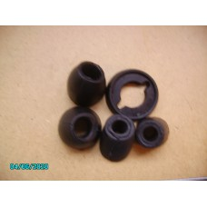 Door rubber kit black - UK souce [N-14:14C-Car NE]