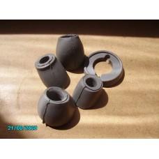 Door rubber kit Grey - UK source [N-14:14D-Car-NE ]