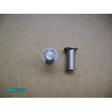 Door Hinge Pin stainless with clip [N-14:18-Car-OL]