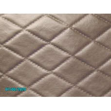 Quilted vinyl material similar to original late Trojan [N-22:06/07A] 0.5m