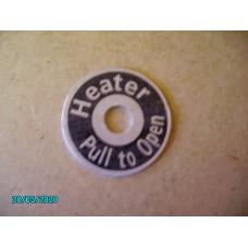 Heater Control Plate (On - Off) [N-08:25-Car-NE]