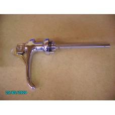 Door Handle, outer, chrome, with 2 keys (inc.Bezel) [N-14:29-Car-AL]
