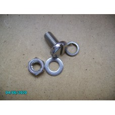 slotted set screw,20mm,with washer and nut in stainless [N-16:03+04+05-All-NE]
