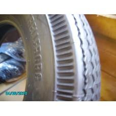 Trelleborg 440 x 10 tyre - similar tread pattern to original. [N-16:07- Car NE]