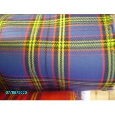 Seat Covering, Original Blue Tartan, Price per 0.5 meter [N-23:B-Car-NE]